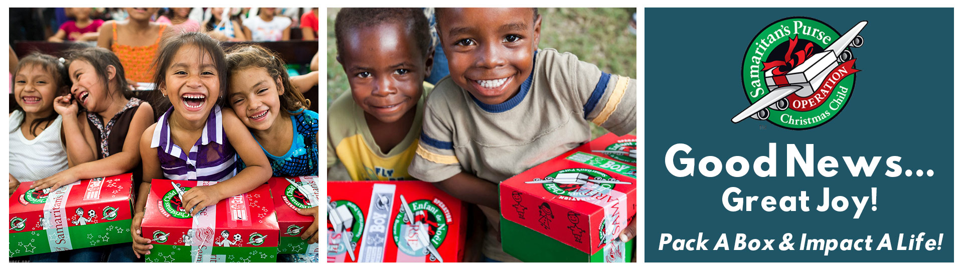 Christmas Child.Operation Christmas Child Celebration Church
